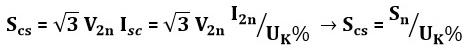 محاسبه قدرت اتصال کوتاه در ترانسفورماتور