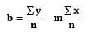 فرمول روش خطی بودن حداقل مربعات