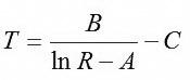 دقت فرمول hart